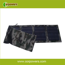 17.5V flexible solar panel and mobile power output for laptop,phone and etc,