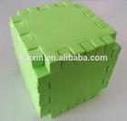 Foam dice for kids DIY