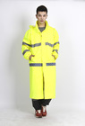 rain coat waterproof skiing fluorescent folding rain coat breathable adult oxford pvc rain coat