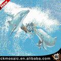 Sw-001 piscina mattonelle per la vendita, delfino mosaico