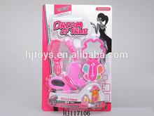 Fashion Girl's Makeup Set Toys, Plastic Toys Hair Beauty Set, Hair Styling Set Toys HJ117106