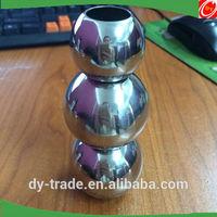 wholesales door decoration steel balls with holes