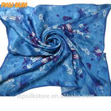 Hot sale fashion magic pure silk scarf