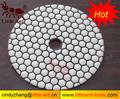 Concreto amoladoras/moledoras/esmeriles piedra de diamante almohadillas de pulido, discos de diamante para el pulido de mármol