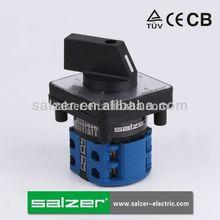 Salzer interruptor giratorio 5 posición sa16 5-2 16a( tuv, ce y cb aprobado)