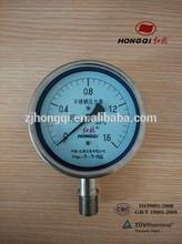 Y-40/60/100/150 BF Stainless steel shock-proof pressure gauge