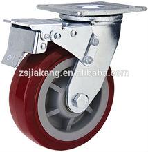 Heavy duty cart casters and wheels,pvc swivel castor