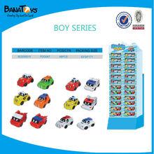 Newest cartoon toy sidekick pdq kids toy car