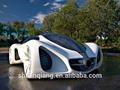 6V 7AH niños doble velocidad B/O coche jugete montable para conducir