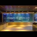 Gran acuario de acrílico del túnel, venta al por mayor del acuario