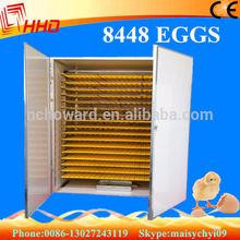 8448 eggs YZITE-25 CE professional Full automatic incubator quail for sale