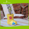 Home decoration boot shaped ceramic flower pot