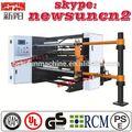 2014 newsun lotería de papel cortadora rebobinadora máquina
