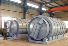 automatic operation safe and environmental tire pyrolysis plant