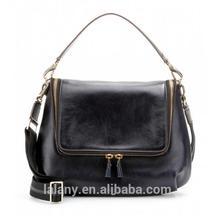 Lelany black high - quality bag genuine leather luxury women handbags