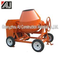 Gasoline/Electric Motor/Diesel Mobile Concrete Mixer Sale in Nigeria with Charging Capacity260L,300L,350L,400L,500L