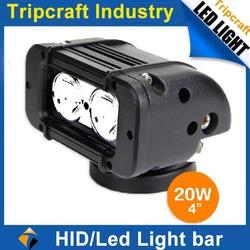 High reputation lighted bar tops 20W led light bar 10w led light bar for motor Atv SUV