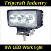 2013 new hot led work lights 9w for ATV,Vessels,Bus,Off-road vehicles,Trucks