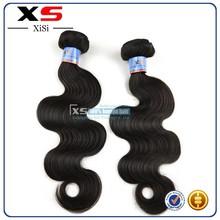 XS wholesale brazilian virgin hair weave,unprocessed can be dyed human hair extension 100% virgin brazilian hair