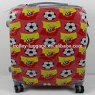 ABS/PC Fashion Printing luggage set/ trolley suitcase SPC81134