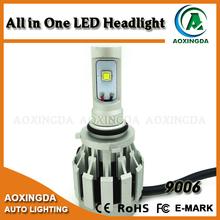 12V 24V 4000LM H4 H7 H8 H9 H10 H11 H16 9005 9006 all in one LED headlight