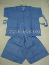 Disposable PP sauna cloth/kimonos/beauty salon shorts