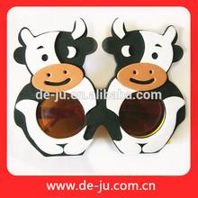 regali festa eva cartone animato a mano bambino mucca occhiali occhiali eva