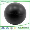 black color super high rubber ball