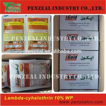 Lambda-cyhalothrin 25g/l, 50g/l EC, 10%, 15%,20% WP, TC, agrochemical insecticide 91465-08-6