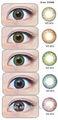 Lentes de contacto cosméticas geo lente peso B7 serie geo círculo lente