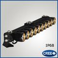 A mené la lumière ampoule led light bar unique 4x4 rangée. 300w 50 pouces. hors route conduit barre lumineuse avec puce cree pour vtt pièces automobiles