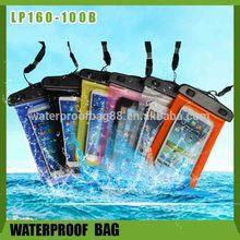 manufacturer of 10 meters diving pvc waterproof bag for mobile phone
