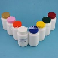 100ml HDPE tablets bottle / empty plastic vitamin bottle with lid / wholesale pill bottle supplier