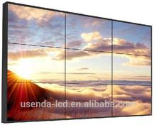 "55""3.7mm narrow bezel Ad LCD Splicing DID Display Seamless LCD Video Display Wall"