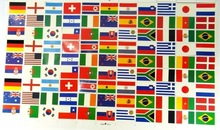 Worldwide favour country flag temporary tattoo sticker
