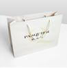 Luxury paper promotional bag with Logo