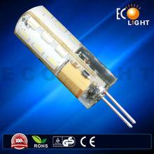2015 Hot Selling! Small Size Epoxy Resin Glue LED G4 12V 1.5W G4 Led Light