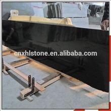 High Quality Polished Mongolia Black Granite slab