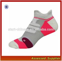 Athletic Performance Men's Running Socks/Wholesale Low Cut Cushioning Sport Men's Running Socks