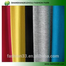 Shanshan chief value of cotton spandex jersey CVC fabric, textile for Tshirt sportwear