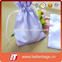 gift packing satin bag to customized