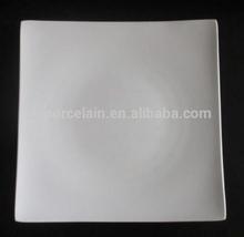 "Haipai 10.5"" square bone china dinner plate in stock"