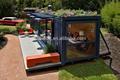 Transporte de tipo aberto casa contêiner sweet home multifuncional recipiente casa pré-fabricada preço