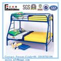 2 planchers en métal lit double la taille de bon marché aux enfants lits superposés en métal guangzhou
