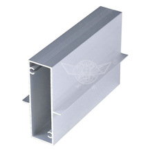 electrophoresis silver aluminum section , weight of aluminum section