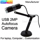 Separating design hd zoom lens webcam small usb video camera