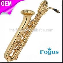 Ottone oro laccato sassofono baritono strumento a fiato**( FB- 500)