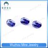10*14mm Oval shape tanzanite color cubic zircon gemstone