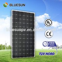 Bluesun mono170w best price per watt solar panels in india