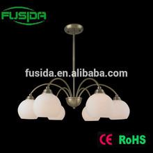 Antique brass copper chandelier in chandelier and pendant light